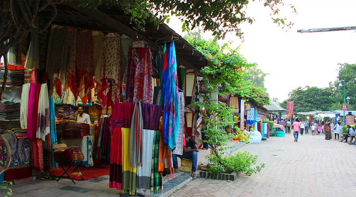 Delhi haat cloths and Saree