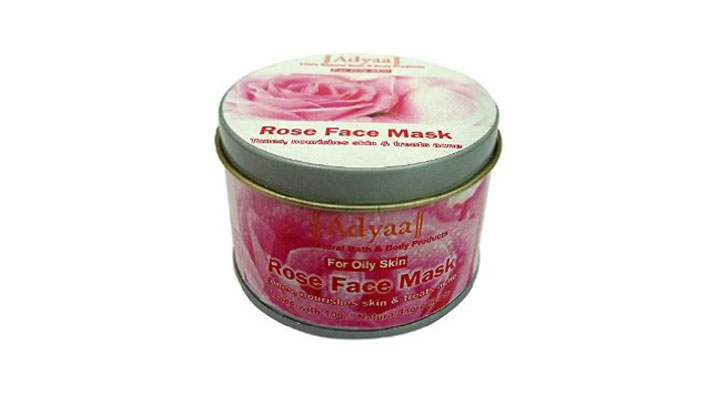 best rose face pack
