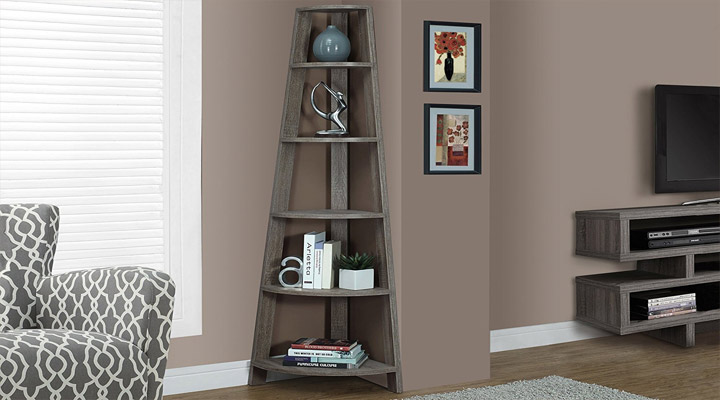 Corner Bookshelf ideas