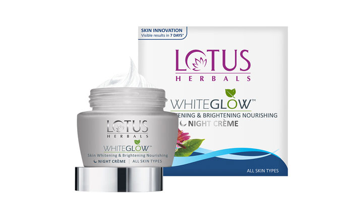 paraben free night cream