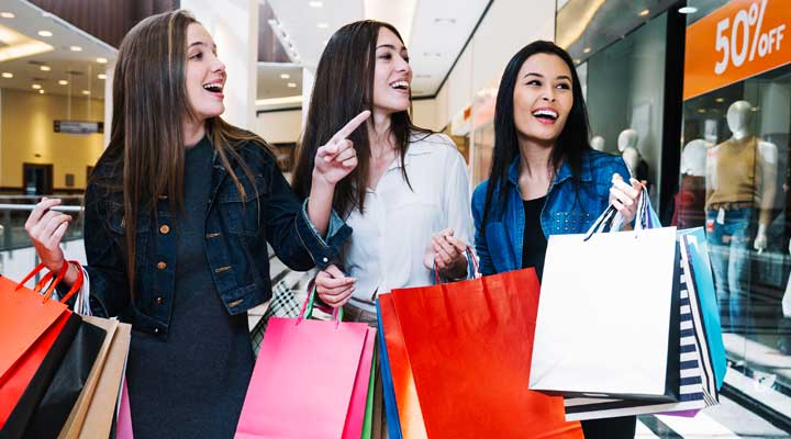 shopping in malls tips