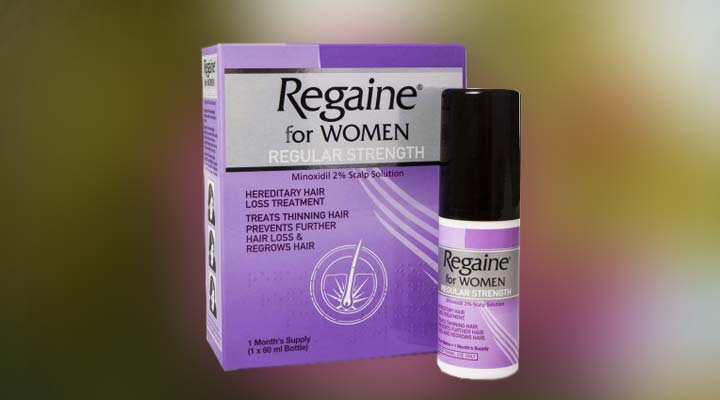 Prevent Hair Loss using Regaine Minoxidil