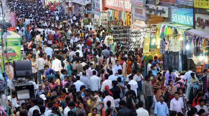 Fashion Street in Chennai