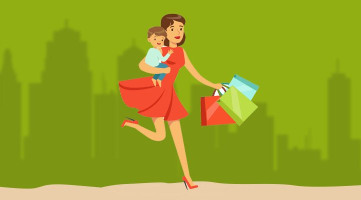 shopping guide for single mothers