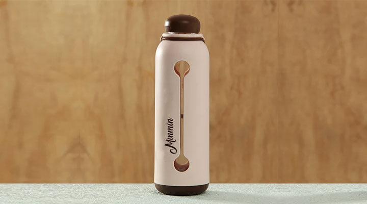 nice design water bottle for ladies