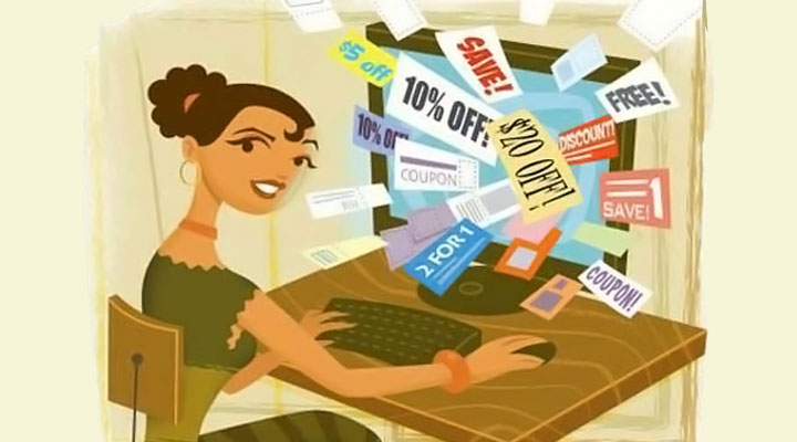 advantages of online shopping saving money